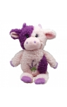 Happy Pet Puppy Toy Lavender Bears Cow