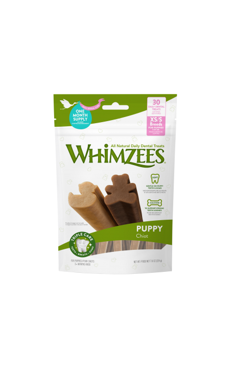 Whimzees Puppy Daily Dental Stix XS-S