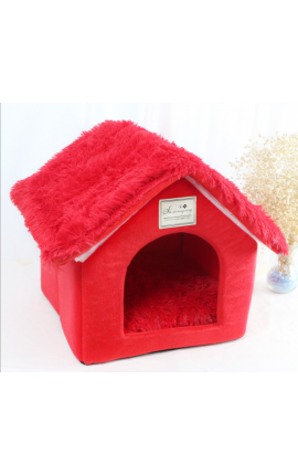 Pet Foldable House - Red