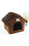 Pet Foldable House - Brown