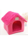 Pet Foldable House - Pink