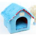 Pet Foldable House - Blue