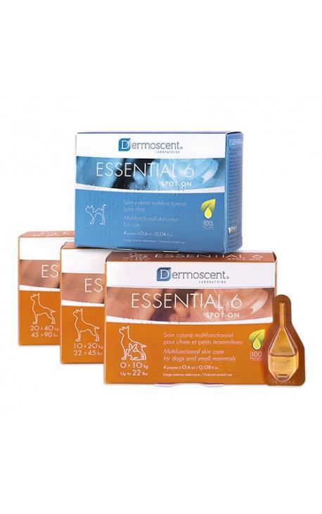 Dermoscent Essential 6 spot-on cats 4×0,6 ml