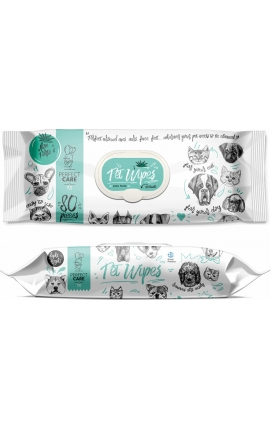 Perfect Care Pet Wipes Aloe Forte