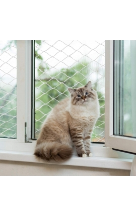 Pawise Protection Net for Cats Transparent 2 x 1,5m