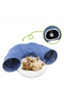 Pawise 2 in 1 Cat Tunnel Bed
