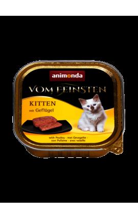 Vom Feinsten Kitten Πουλερικά 100 gr