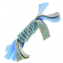 Happy Pet Little Rascals Fleecy Rope Coil Blue