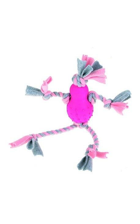 Happy Pet Little Rascals Fleecy Man Pink