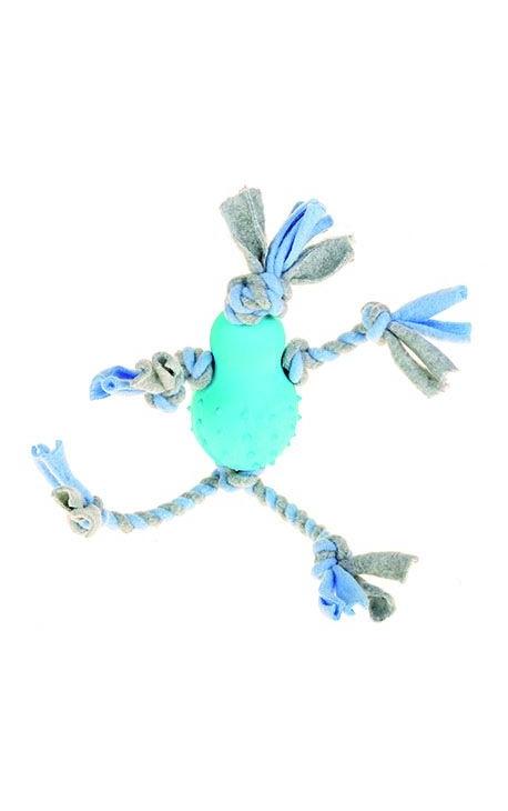 Happy Pet Little Rascals Fleecy Man Blue