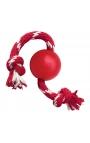 Kong Ball με σχοινί Κόκκινο Small