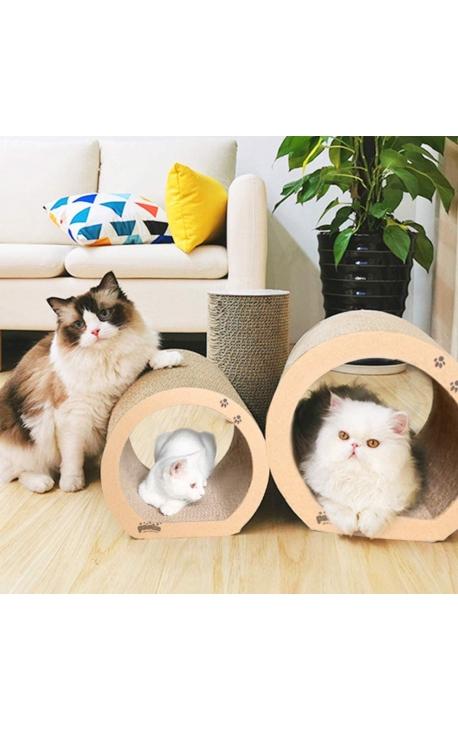 Pawise Cat Scratcher Cardboard - 3 pieces