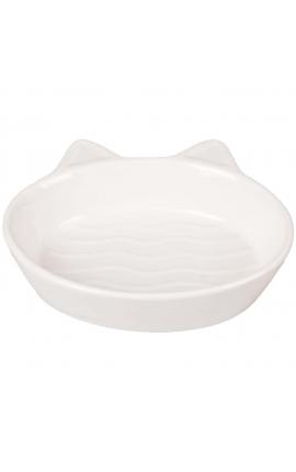 Flamingo Cat Bowl Gizmo White