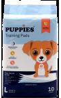 Puppies Εκπαιδευτικές Πάνες Σκύλου 10 τμχ