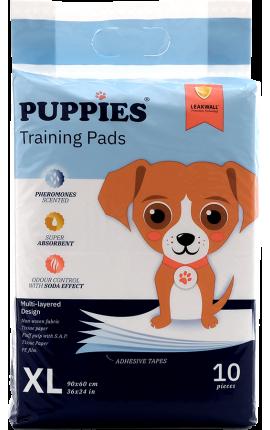 Puppies Εκπαιδευτικές Πάνες Σκύλου 60x90cm  10 τμχ