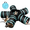 Cat Foldable 5 Holes Tunnel