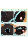 Cat Foldable 4 Holes Tunnel