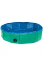 DOGGY POOL GREEN/BLUE 120CM DIAM