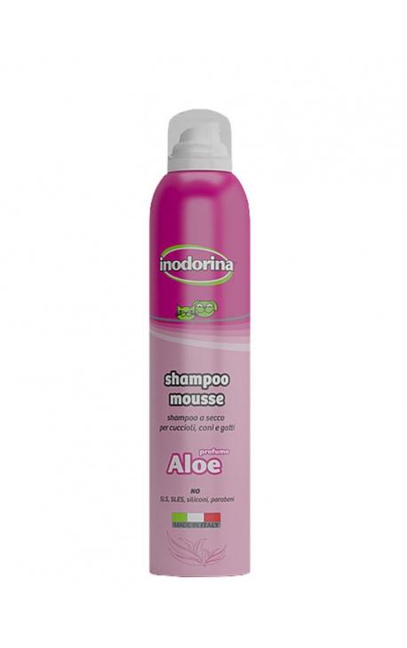 Shampoo mousse aloe