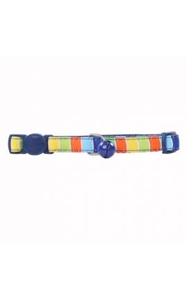 Pawise Cat Collar Blue Stripes