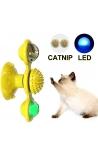 Cat Interactive Rotating Windmill