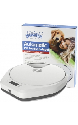 Pawise Automatic Pet Feeder 5-Meal