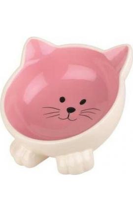 Happy Pet Orb Cat Bowl Pink