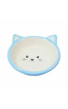 Happy Pet Kitten Bowl Blue