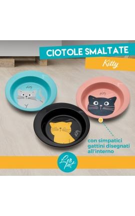 Leo Pet Inox Stainless Steel Bowl Kitty