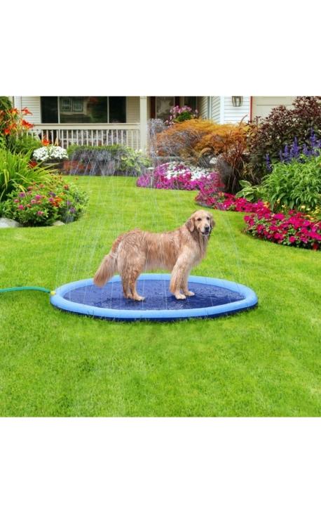 Leo Pet Rainbow Pet Sprinkler Mat