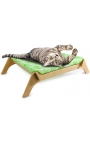 AFP Cat Lounge Bed Green