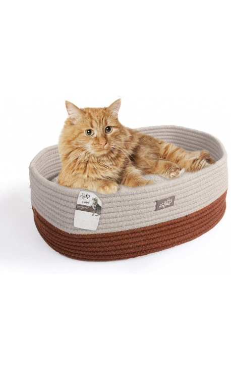 AFP Curl and Cuddle Cat Bed