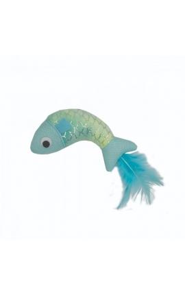 Happy Pet  Mermaid Fish Cat Toy