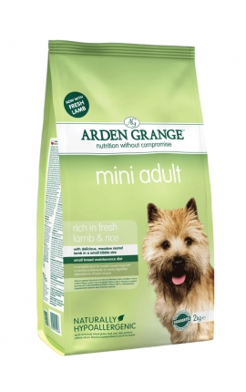 ARDEN GRANGE DOG ADULT LAMB & RICE MINI