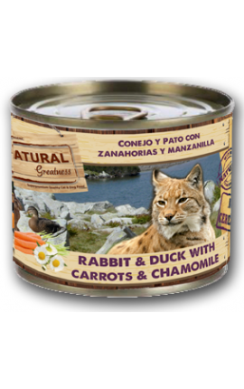 Natural Greatness Rabbit & Duck for cats
