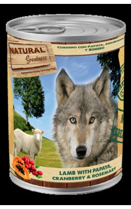 Natural Greatness: «Αρνί με Παπάγια, Κράνμπερις και Δενδρολίβανο»