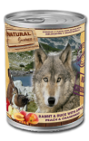Natural Greatness: «Κουνέλι & Πάπια με Μήλο, Ροδάκινο και Χαμομήλι »