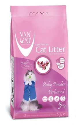 Van Cat Baby Powder